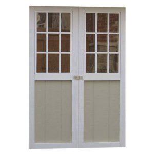 Web Double Door With Window