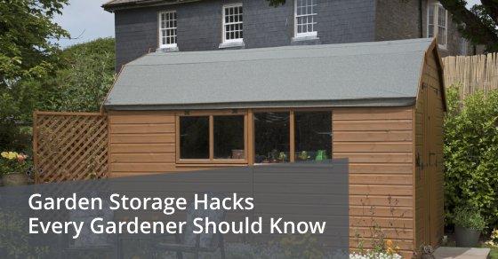 Garden Storage Hacks Every Gardener Should Know